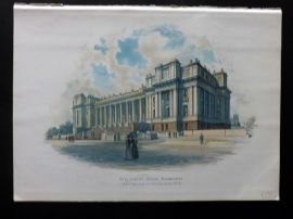 Cassell 1902 Antique Print. Parliament House, Melbourne, Australia